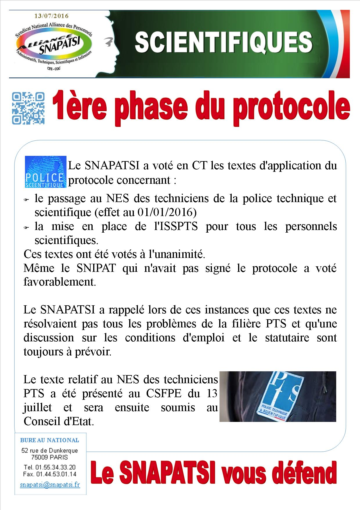 Tract scientifiques