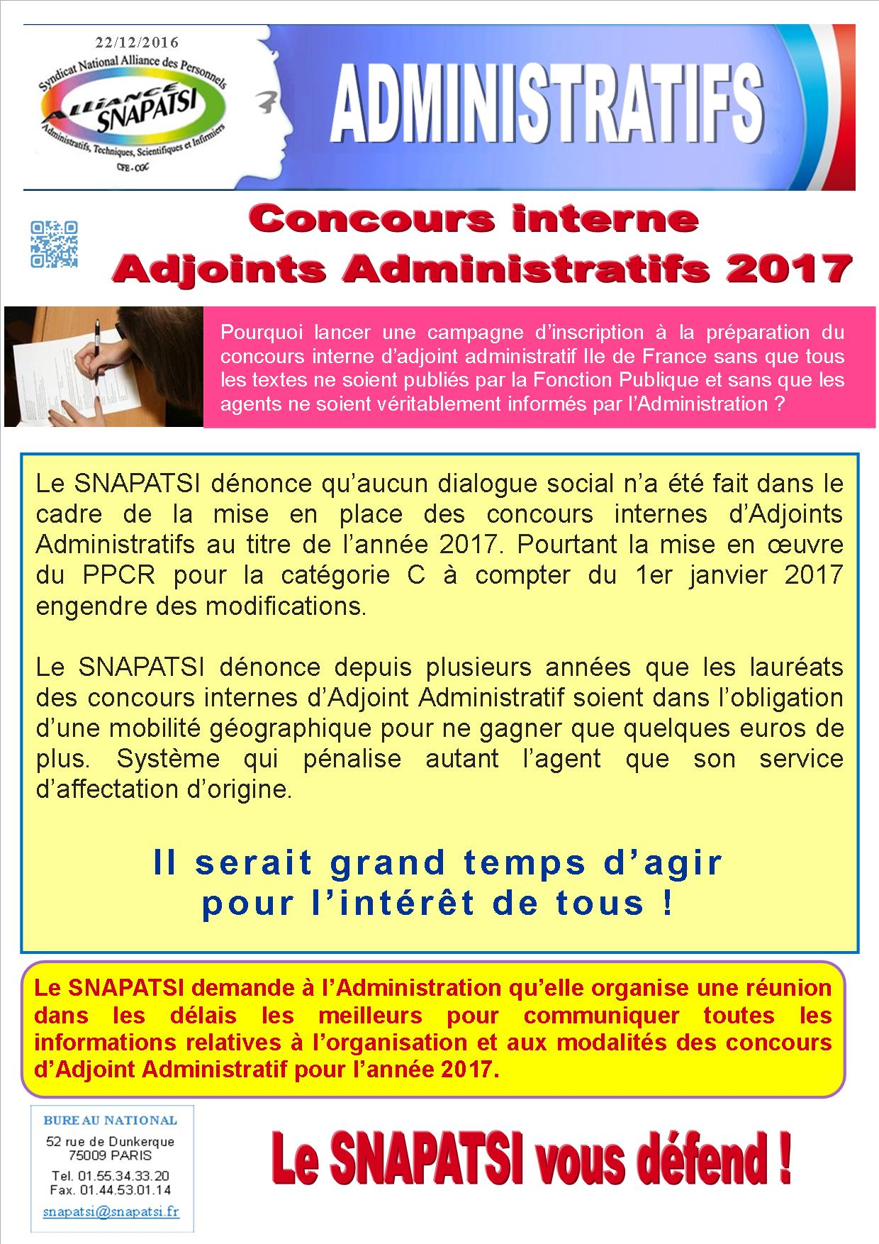 Tract concours AA 2017